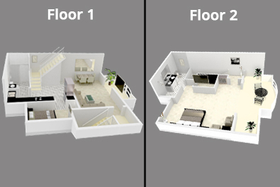 Mayfair Penthouse Floor 1 and 2