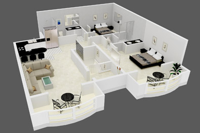 Mid-Westminster 2 bedrooms